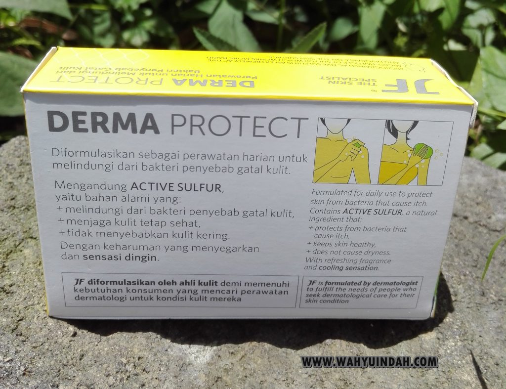 SABUN JF SULFUR DERMA PROTECT