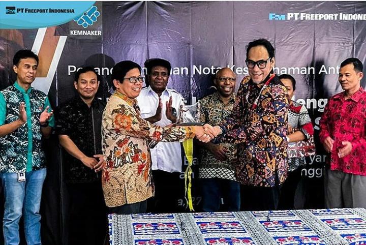 kontribusi Freeport Indonesia