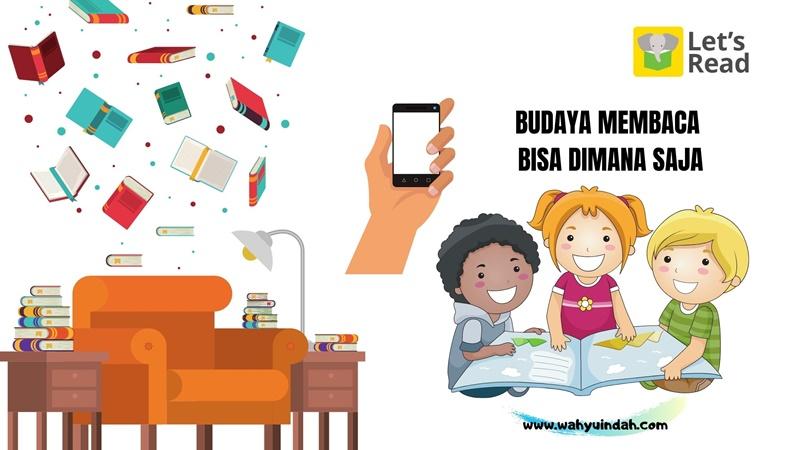 budaya membaca let's read