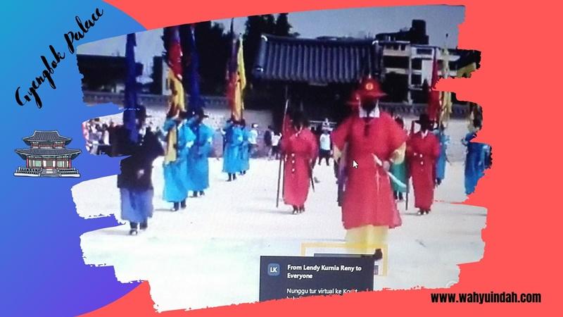 Gyengbok Palace. Kerajaan Korea yang pernah dipakai syuting film