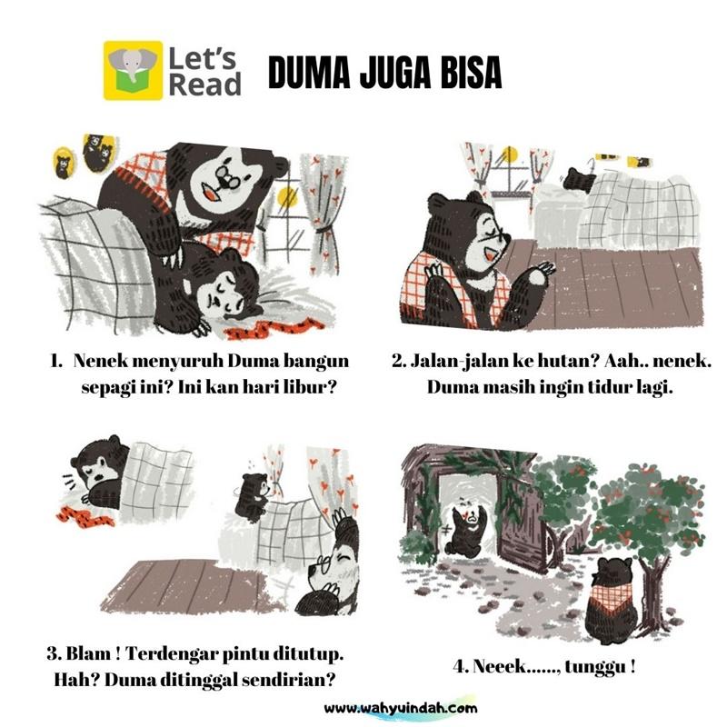 cerita let's read