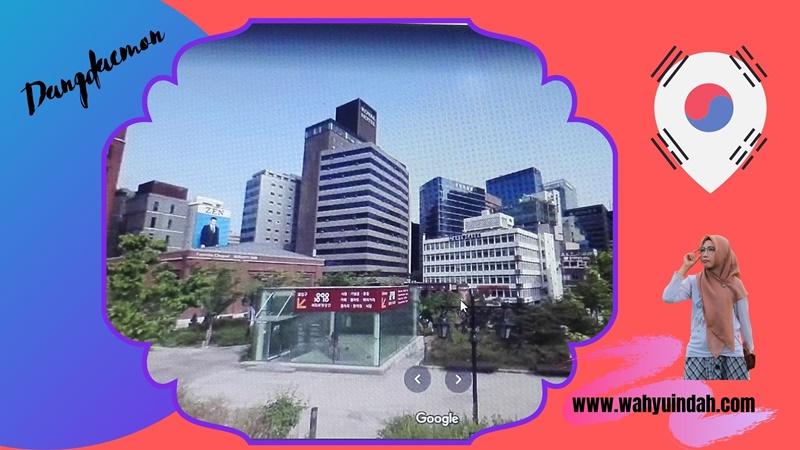 Dangdaemun mall tempat belanja artis korea