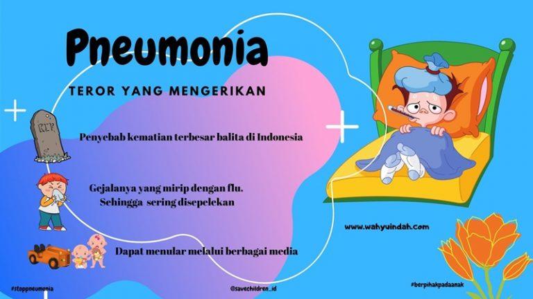 alasan pneumonia disebut sebagai teror yang mengerikan