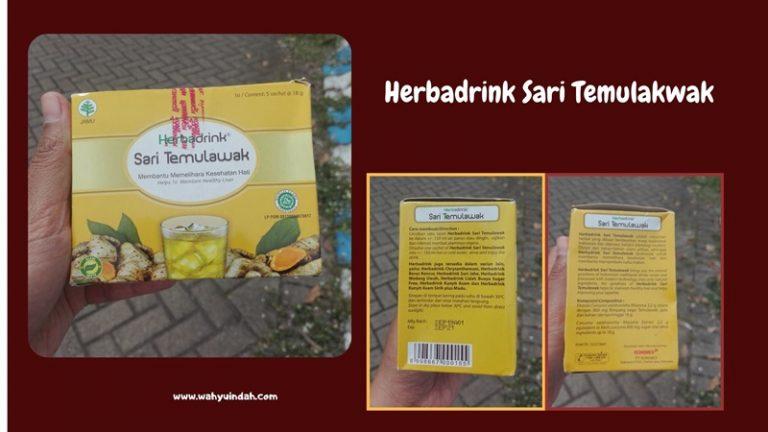 packaging herbadrink temulawak