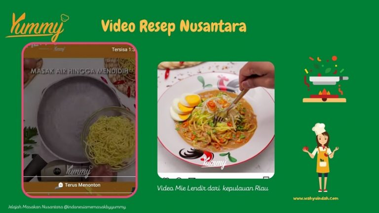 video reseo di indonesia memasak by yummy
