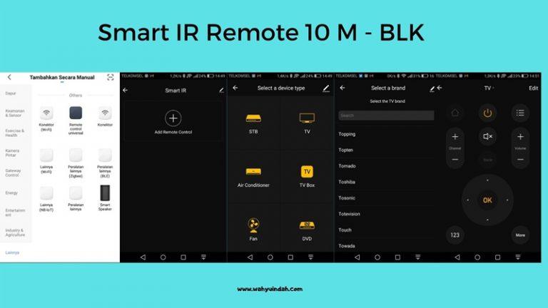 tampilan ir remote di smart life