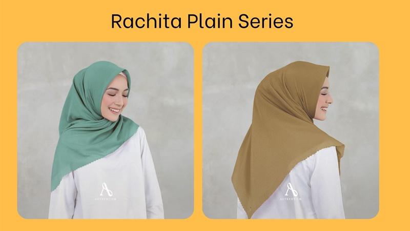 Model hijab Authentism Rachita plain series