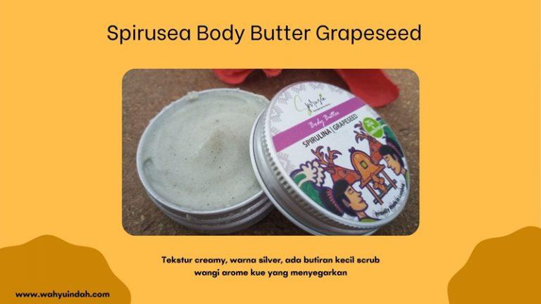 tekstur bodu butter grapeseed dari organic lombok