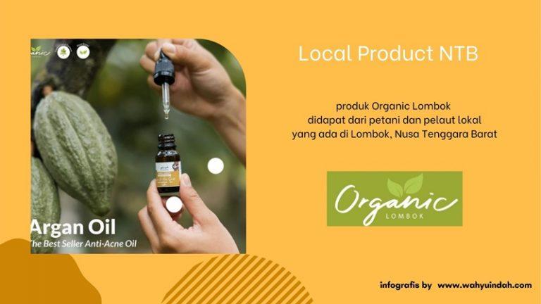organic lombok menggunakan bahan alami yang asalnya dari lombok NTB
