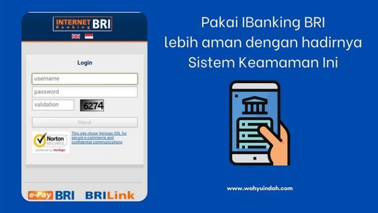 sistem keamanan pada internet banking bri