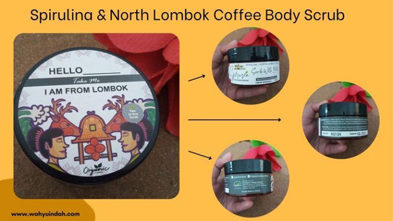 kemasan spirulina and North Lombok Coffee Body Scrub