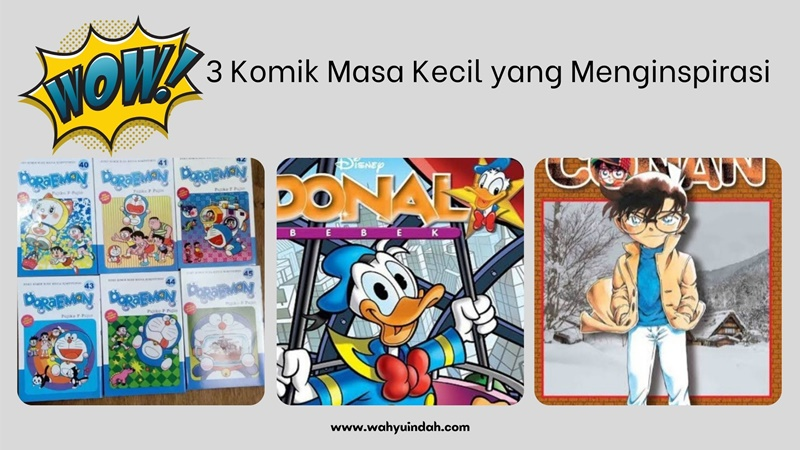 3 komik masa kecil yang menginspirasi