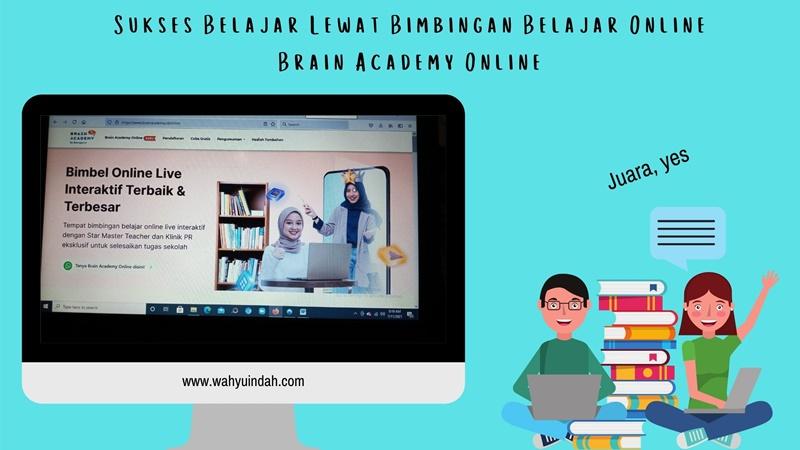 belajar online ya di bimbinga belajar online brain academy online