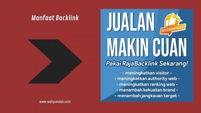 manfaat dari backlink