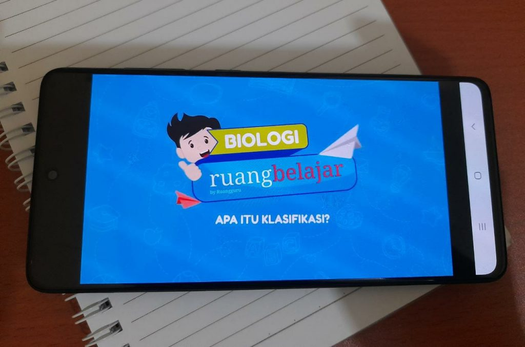 aplikasi ruang belajar by ruang guru