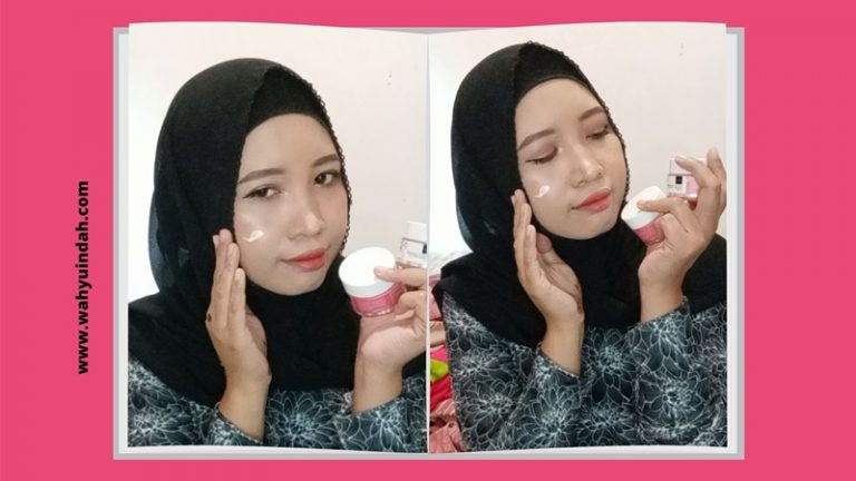 review pemakaian scarlett brightly ever after cream day and night