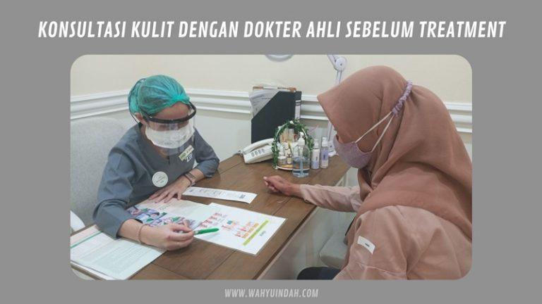 sebelum treatment harus konsulitasi dengan dokter terlebih dulu