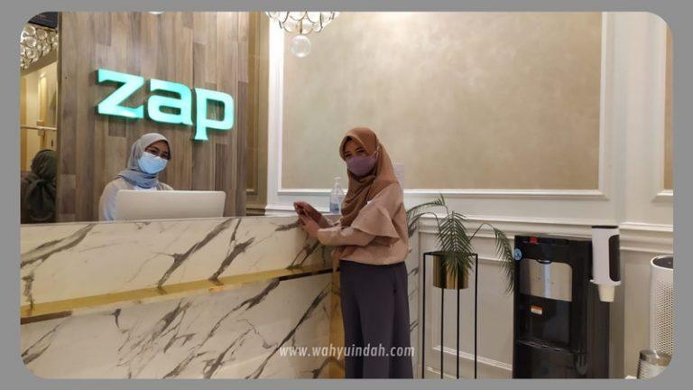 hasl setelah treatment UHR di zap clinic