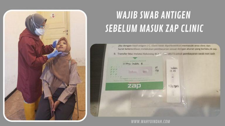 swab antigen di zap clinic malang